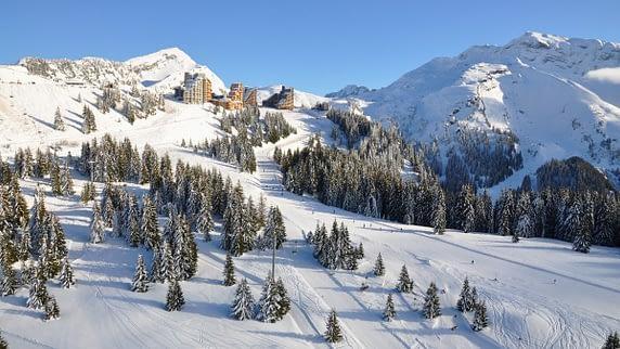 Avoriaz ski resort