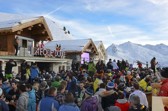 La Folie Douce, Val d'Isere ski resort